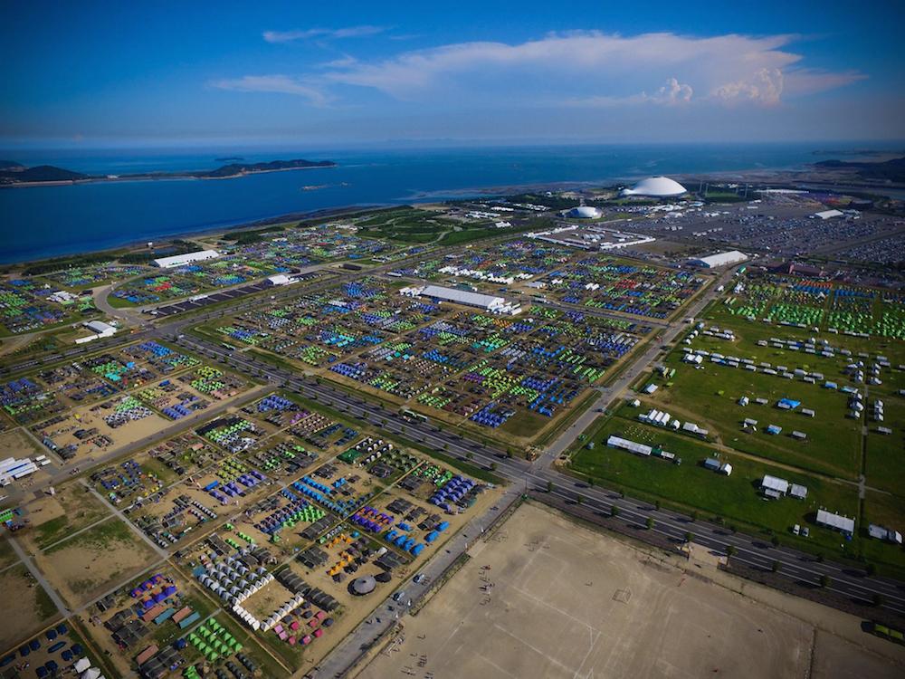 Das grösste Pfadfindertreffen der Welt fand dieses Jahr in Japan statt.