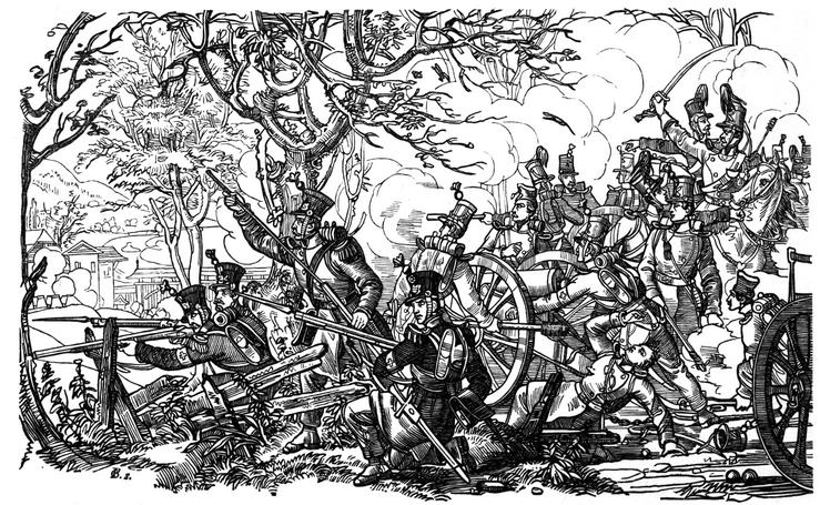 Schlacht bei Gisikon: Freischarenzüge gegen Truppen der Konservativen.