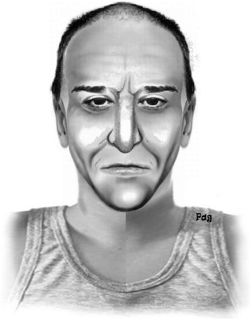 Das Phantombild des Vergewaltigers aus Salzburg.