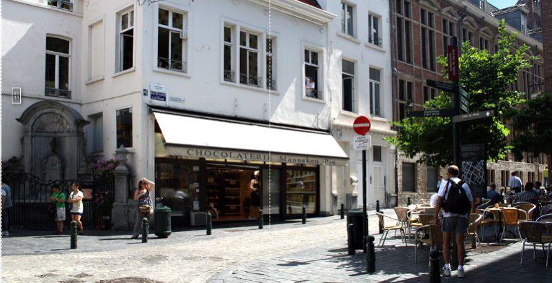 Das Partnergeschäft in Brüssel.