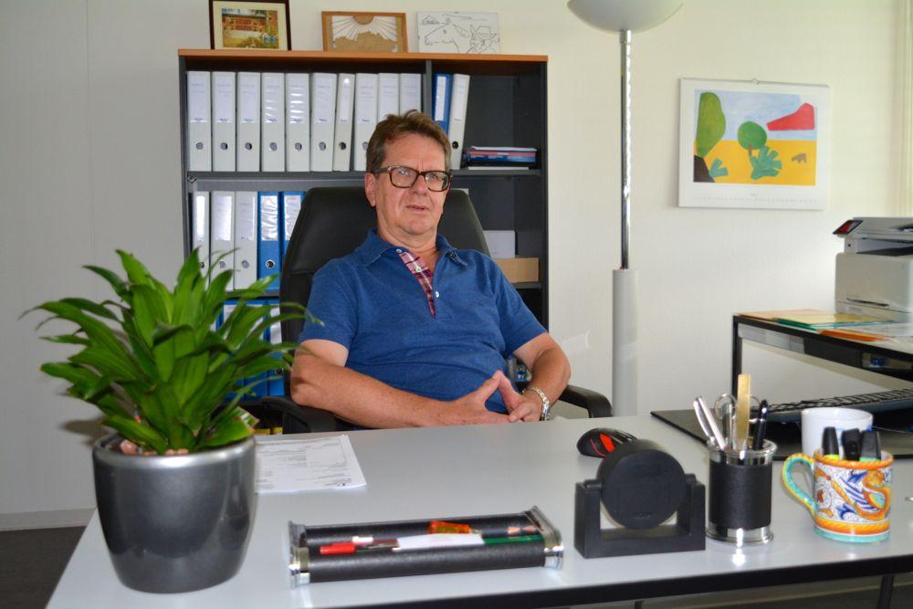 Philippe Biedermann hat lange für US-Firmen gearbeitet, bevor er sich selbständig machte. Er ist der älteste Mieter des Businessparks Zug.