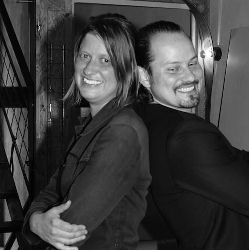Die Geschäftsführung: Barbara Glenz und Stefan Chiovelli