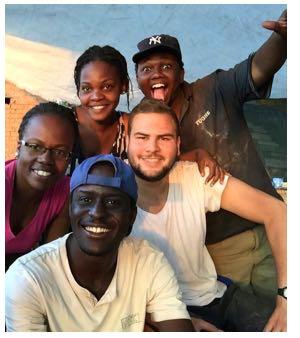 Daniel Petrasinovic aus Luzern schätzte den Austausch mit den Tansanischen Studenten. (Bild: zvg)