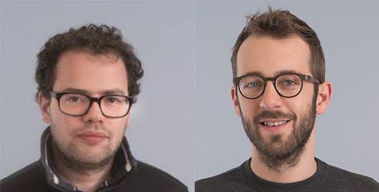 Die SP-Führung Simon Roth (links) und Claudio Soldati.