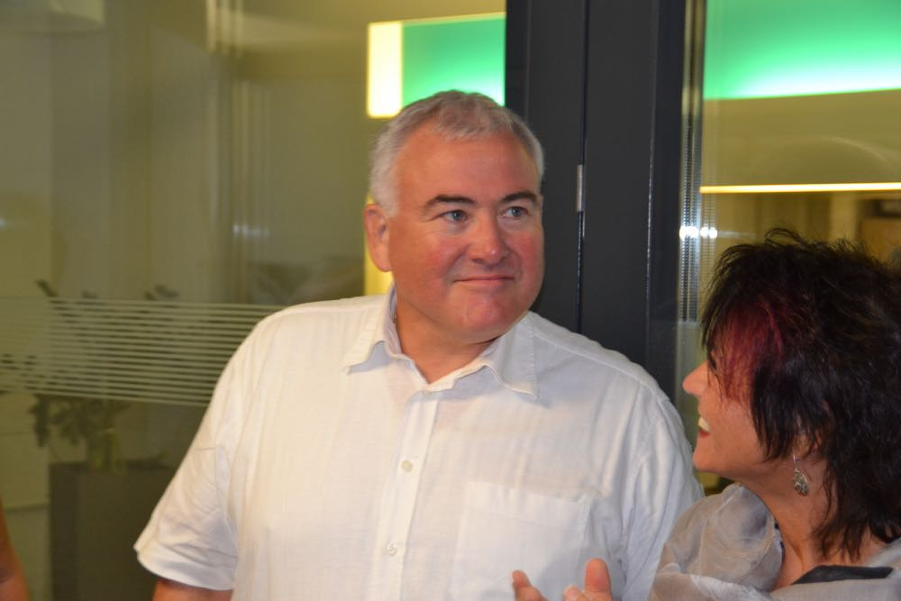 War der lachende Dritte des 1. Wahlgangs: Franco Faé, CVP-Parteipräsident und Gemeinderatskandidat.