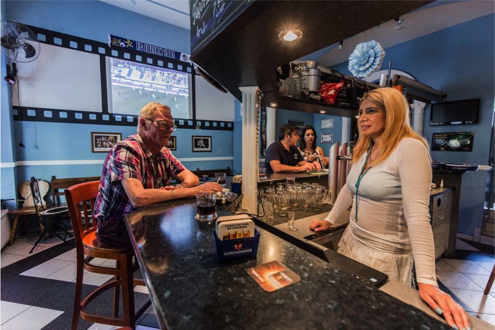 Legends-Bar an der Löwenstrasse (Foto: Pawel Streit).