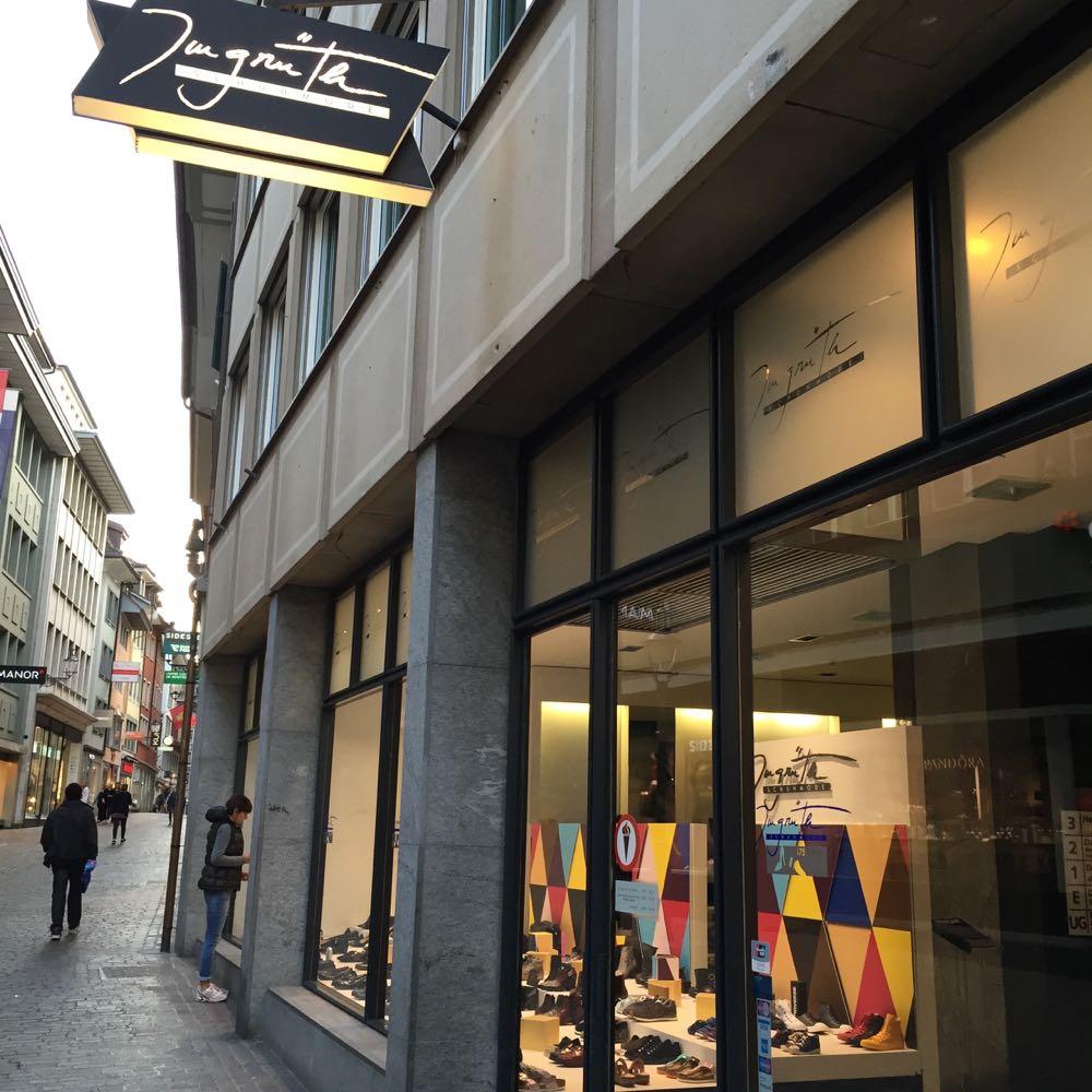 Das Schuhaus Imgrüth verkauft seit über 100 Jahren Schuhe.