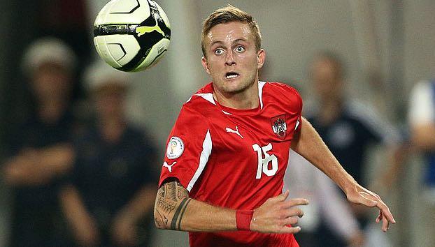 Jantscher im Dress der Österreichischen Nationalmannschaft. Damals noch ohne Bart.
