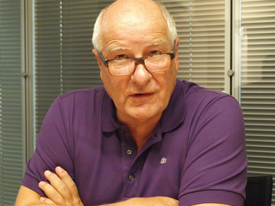 Walter Stierli im Interview mit zentral+ (Bild: Elia Saeed).