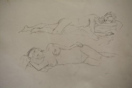 Eine Zeichnung der Autorin. (Bild: jav)
