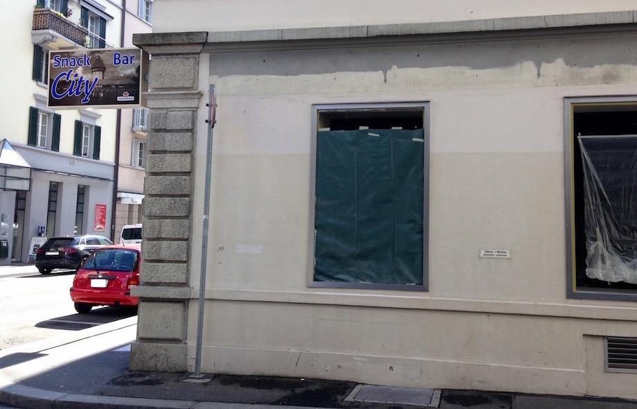 An der Winkelriedstrasse 30 wird zurzeit umgebaut. Wie lange noch, ist unklar.