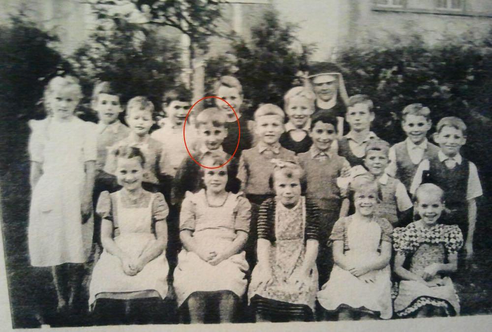Ein Klassenfoto aus dem Jahr 1957: Im Kinderheim Schüpfheim wurde Franz Gehrig auch unterrichtet. (Bild: zvg)