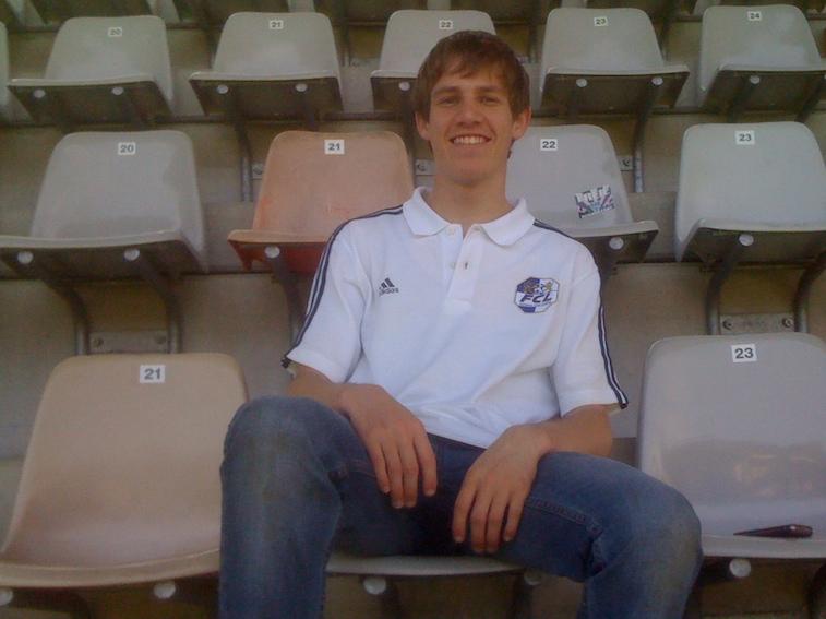 In seiner Freizeit ist Christian Eyer ein grosser Fan des FC Luzern.