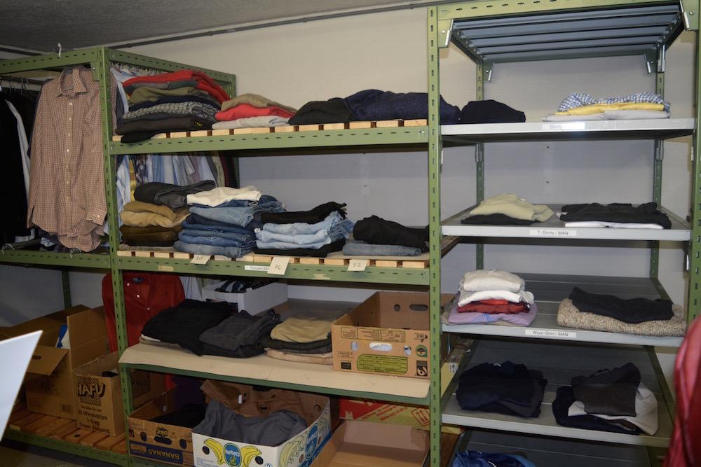 Wem ein Kleidungsstück fehlt, dem wir hier geholfen.
