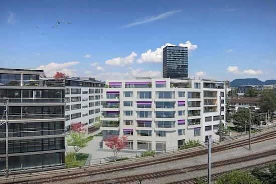 So soll es zukünftig an der Albisstrasse in Zug aussehen.