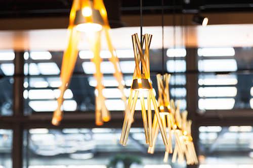 Lampen aus Murano-Glas: Kein Aufwand wurde für das Luzerner Tibits gescheut.