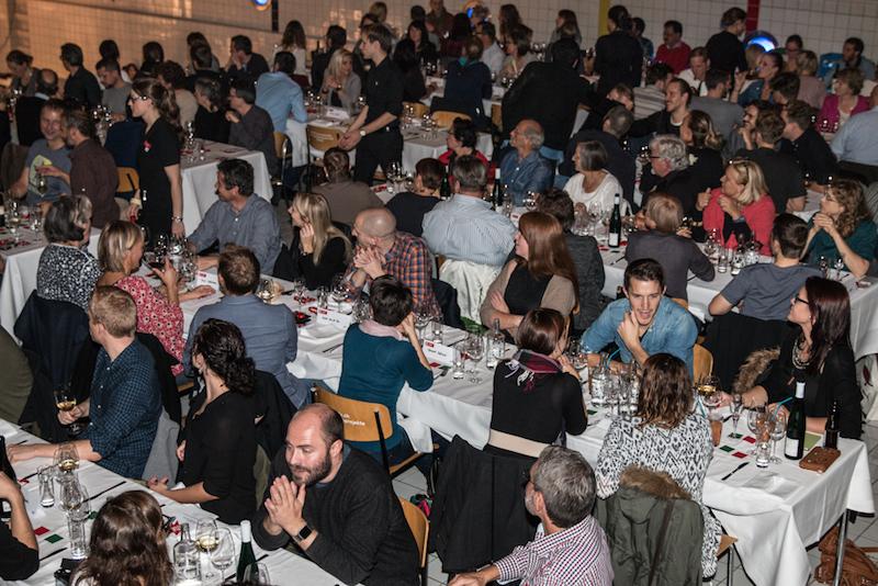 136 Gäste wurden beim Kitchen Battle im Neubad kulinarisch verwöhnt. (Bild: Marc Hodel)