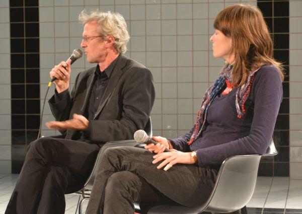 Adrian Borgula und Karin Hess.