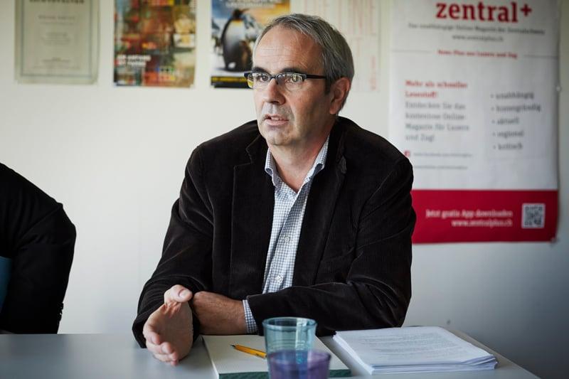 Beat Züsli (52), SP-Kantonsrat, Architekt und Energie-Ingenieur