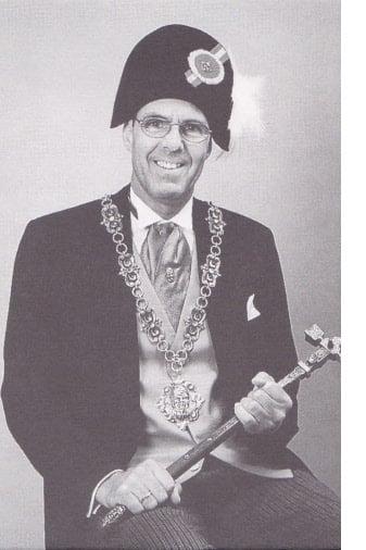 Das offizielle Zunftmeisterfoto von Hans Brunner.