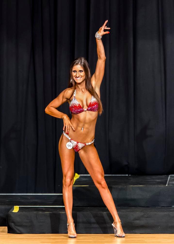 Posing für die Jury: Jessica Gismondi aus Kriens hatte einen guten Eindruck hinterlassen. (Bild: Picasa)
