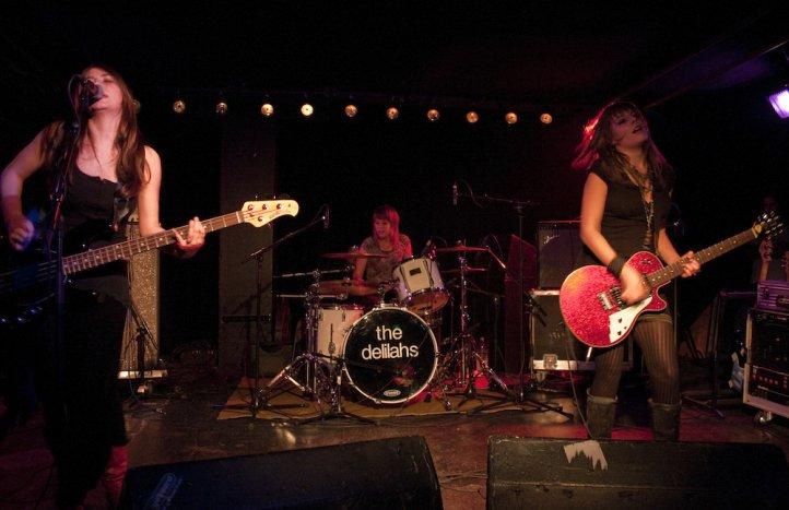 «the dlilahs» bei einem ihrer Auftritte in der Galvanik