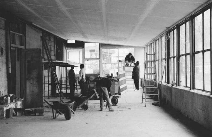 Es gab viel zu tun: Renovationsarbeiten 1995