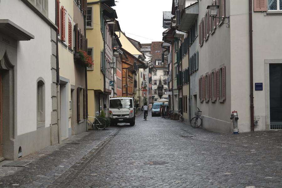 Ob Ober oder Unter: In der Zuger Altstadt findet sich kaum Laufkundschaft.
