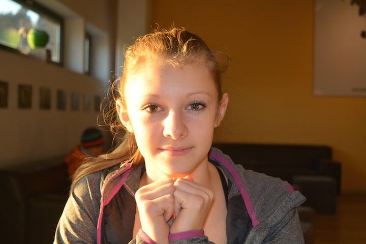 Hannah Hermann trainiert fünfmal pro Woche.