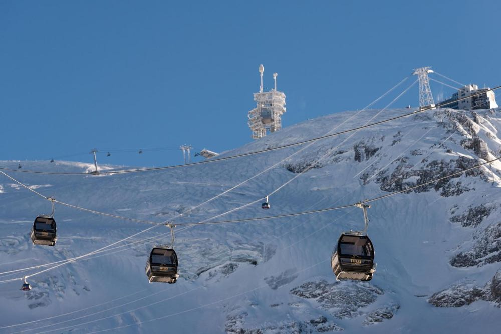 Dank dem Titlis Xpress werden die Wartezeiten an der Talstation massiv verkürzt.