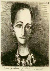 Ein Picasso-Potrait von Angela Rosengart