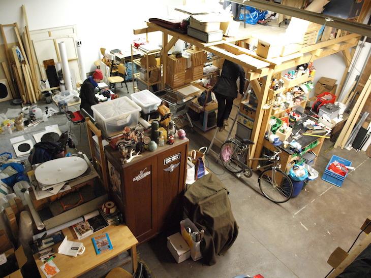In der Ateliergemeinschaft Botenplätze Halle Nord arbeiten Künstler und Techniker unter einem Dach.