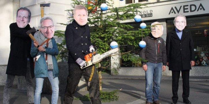 Die Luzerner Regierung erntete happige Kritik für ihre Sparpläne, insbesondere von linken politischen Spektrum.