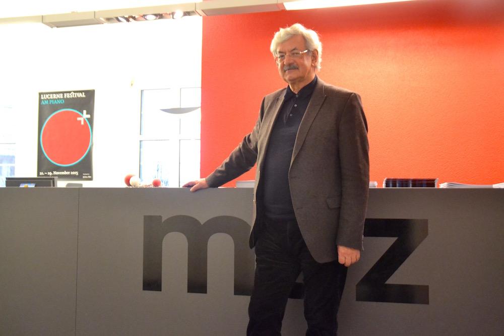 Iwan Rickenbacher gibt das MAZ-Präsidium auf Ende 2015 ab.