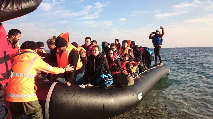 «Täglich kommen mehrere Dutzend hoffnungslos überladene Schlauchboote an.»