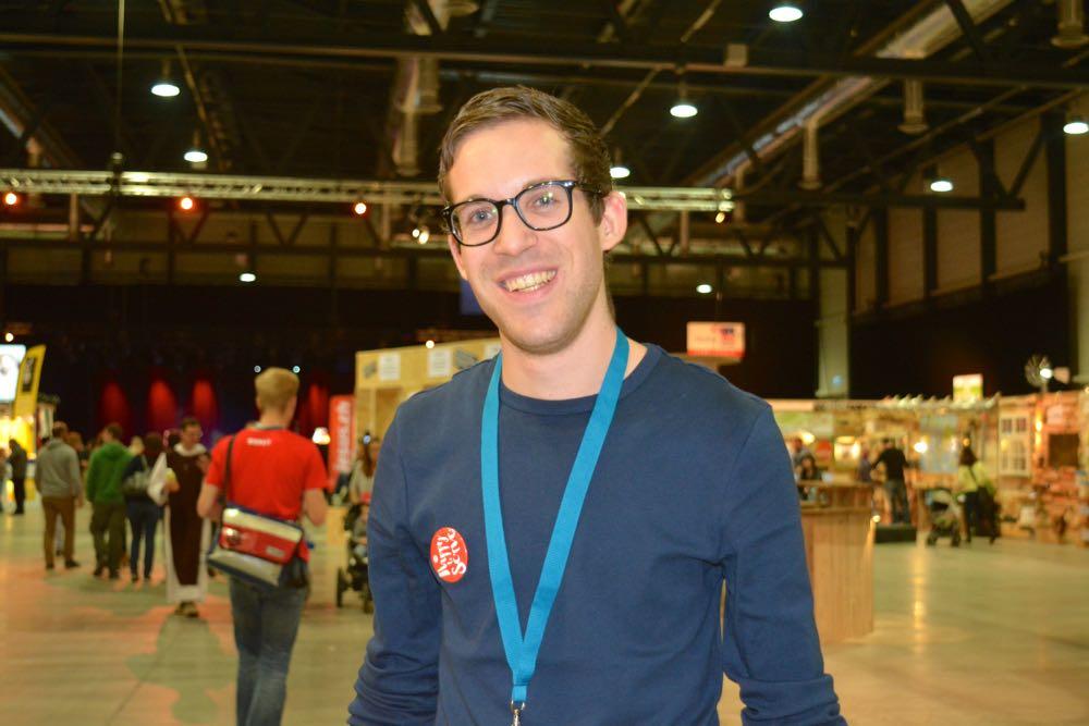 Lukas Gammenthaler (26) hat zentral+ durch die Explo begleitet.