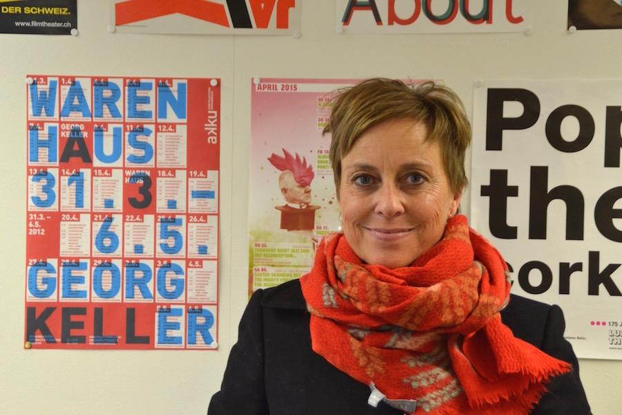 Die Luzernerin Birgitte Snefstrup ist die Projektleiterin des hotspots und sitzt in der Geschäftsleitung des Vereins LISA.