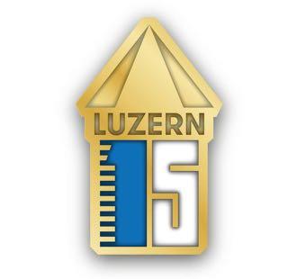 Der «Luzerner Pin» galt als Eintritt für verschiedene Festivals in Luzern.