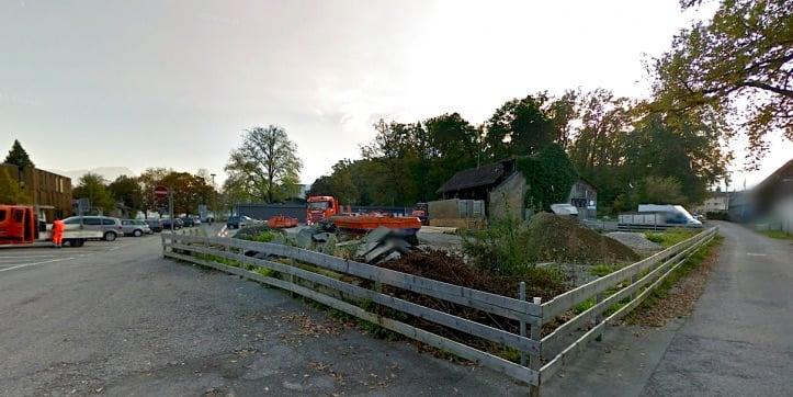Das Areal neben dem Luzerner Eichwäldli steht immer wieder zur Diskussion. Ein Asylzentrum an diesem Standort gibt es definitiv nicht. (Bild: Google Streetview).