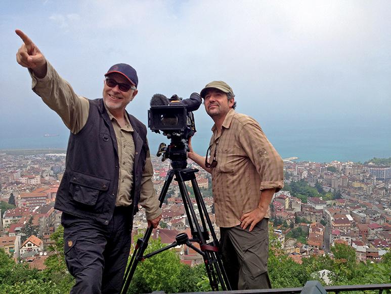Gysling in der Türkei bei den Dreharbeiten der SRF-Dokfilmserie «Seidenstrasse».