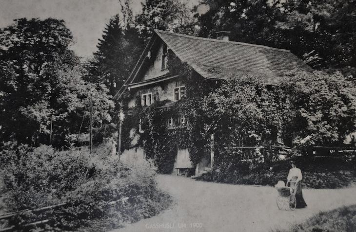 Das heutige Vereinshaus «Gasshüsli» um 1900. (Bild: zvg)