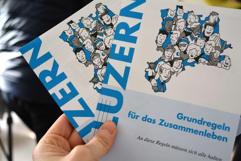 Druckfrisch: Die Luzerner Benimmregeln für Asylbewerber