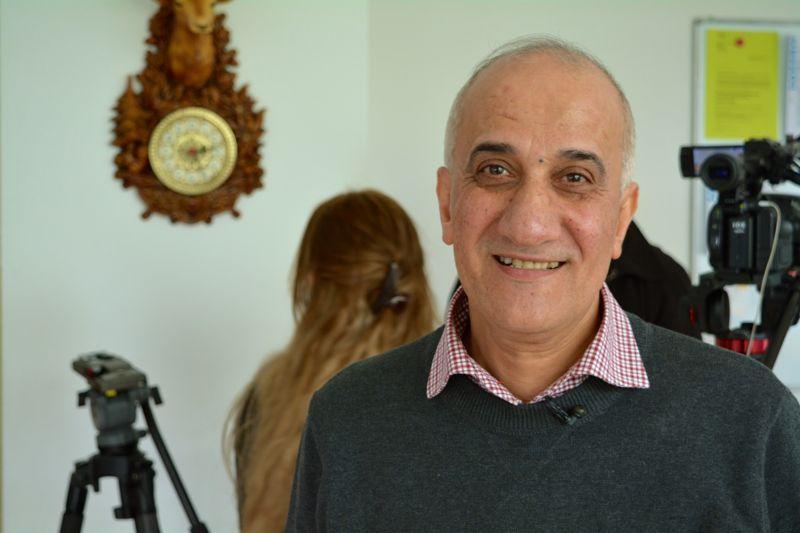Hassan Fawaz, Übersetzer und Coach für Asylsuchende