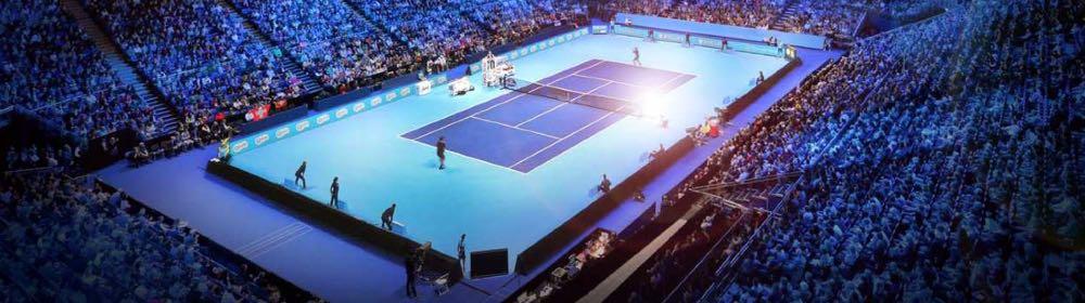 Auch für Konzerte oder, wie hier im Bild, Tennis-Länderspiele könnte die Pilatus-Arena genutzt werden.