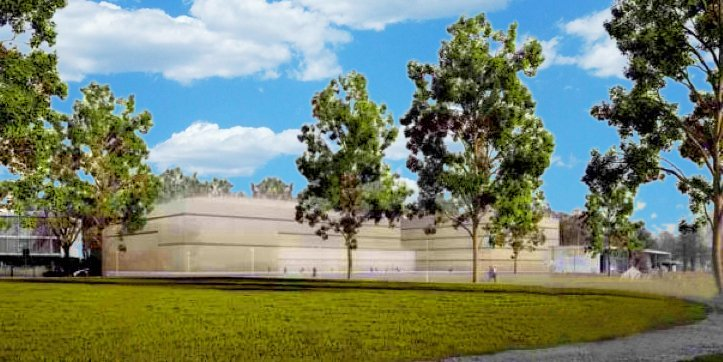 Ein Bild aus alten Projekttagen: Wie die «neue» Salle Modulable aussieht und wo sie zu stehen kommen soll, wird sich wohl 2016 klären.