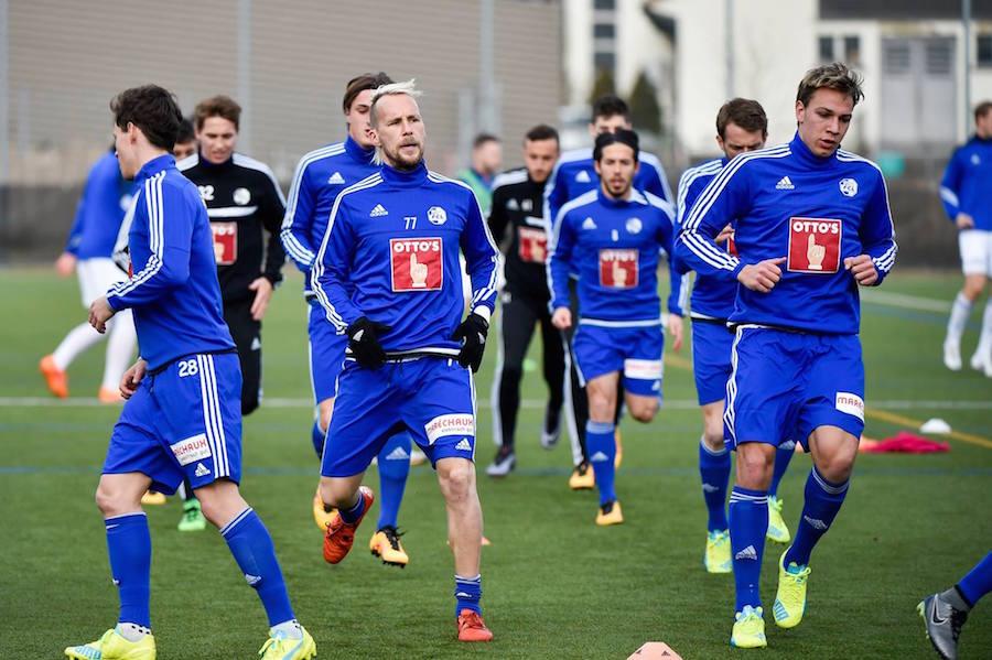 Mit dieser Truppe will der FCL eine erfolgreiche Rückrunde gestalten.