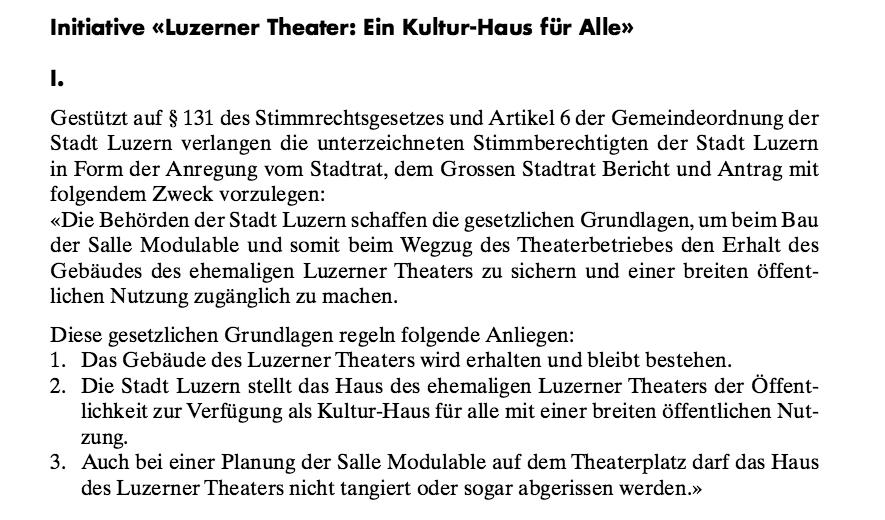 «Ein Kultur-Haus für Alle» fordern die Initianten um den Künstler Ariel Kolly.