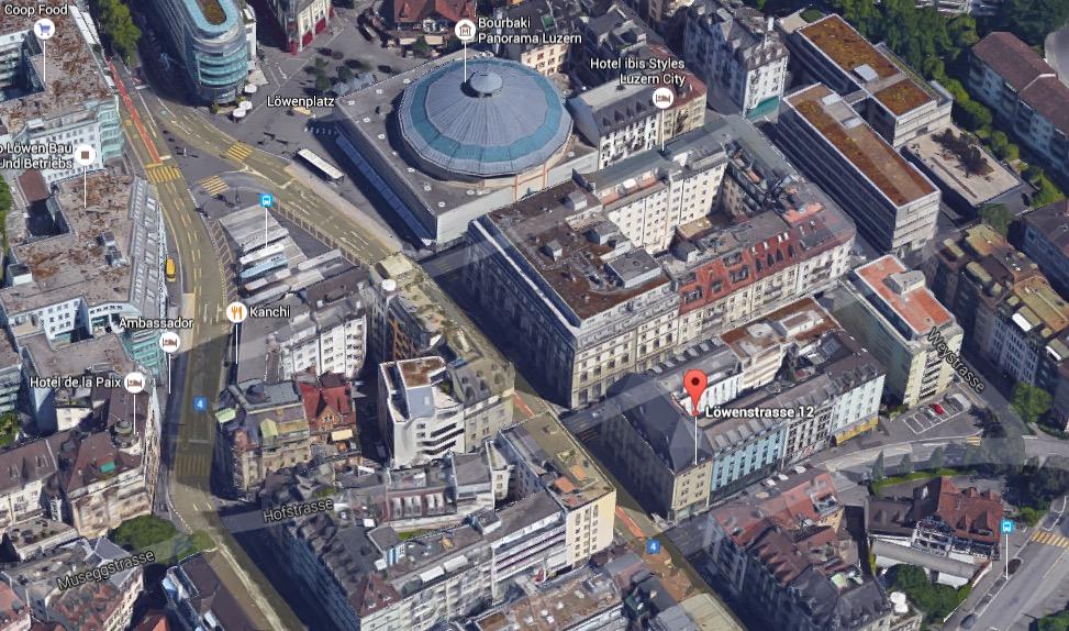 Der neue Emmi-Laden liegt zwischen dem Schweizerhofquai und dem Löwencenter.