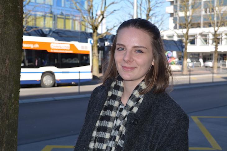 Darf noch nicht abstimmen, würde aber gern: Sabrina Heller (17)