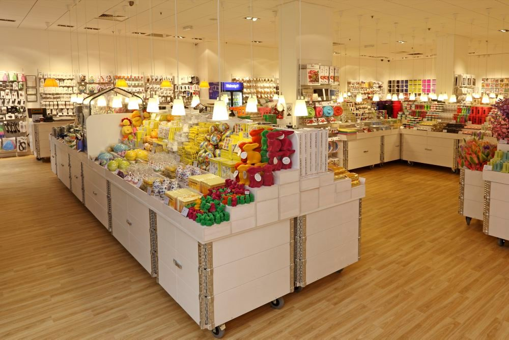 Ein Beispiel eines Tiger-Shops in Irland. Die Läden werden immer nach dem gleichen Konzept eingerichtet.